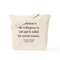 Bertrand Russell 9 Tote Bag