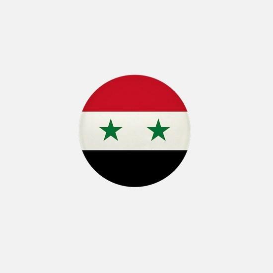 Syria Flag Mini Button