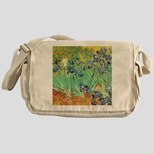 Van Gogh Irises Messenger Bag