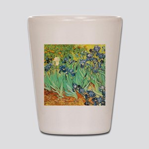 Van Gogh Irises Shot Glass