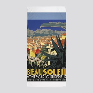 Beausoleil, France, Monte Carlo, Vintage Poster Be