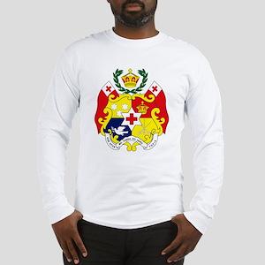 Tonga Coat of Arms Long Sleeve T-Shirt