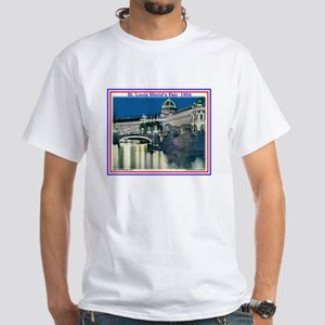 Palace of Varied Industries White T-Shirt