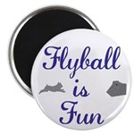 "Flyball is Fun 2.25"" Magnet (100 pack)"