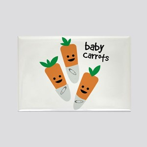 Baby Carrots Magnets