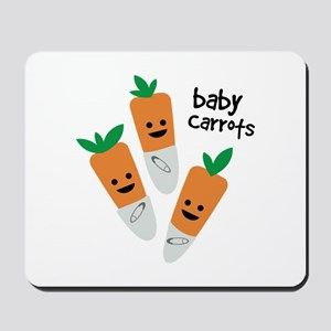 Baby Carrots Mousepad