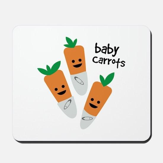 Baby Carrots Mousepad