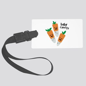 Baby Carrots Luggage Tag