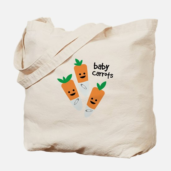 Baby Carrots Tote Bag