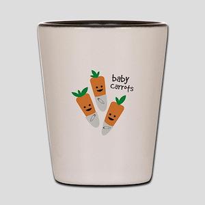 Baby Carrots Shot Glass