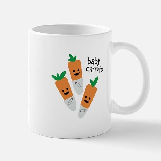 Baby Carrots Mugs