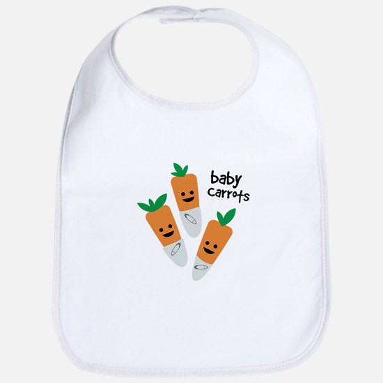 Baby Carrots Bib