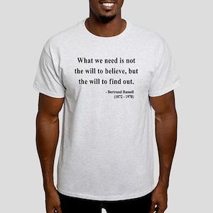 Bertrand Russell 4 Light T-Shirt