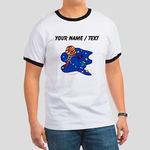 Rocket In Space (Custom) T-Shirt