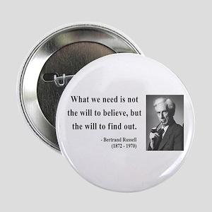 """Bertrand Russell 4 2.25"""" Button"""
