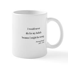 Bertrand Russell 3 Mug