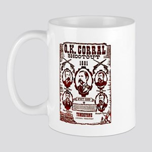 O.K. Corral Shootout Mug