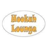 Hookah Lounge Sticker (Oval)
