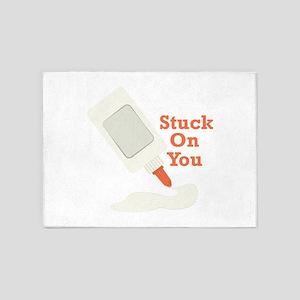 Stuck On You 5'x7'Area Rug