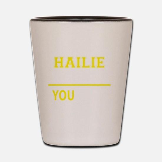 Cute Hailie Shot Glass