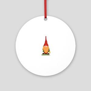 The Gnome Ornament (Round)