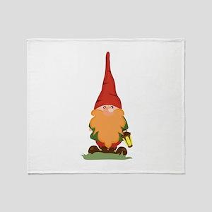 The Gnome Throw Blanket