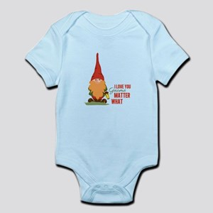 I Love You Gnome Body Suit