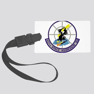 527th_Space_Aggressor_Squadron.p Large Luggage Tag