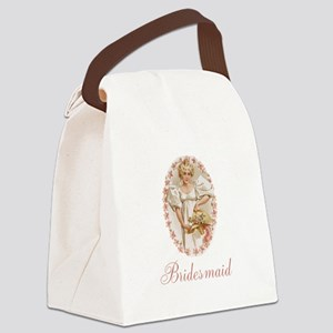 Wedding Party Canvas Lunch Bag