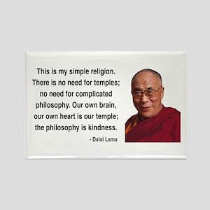 Dalai Lama 1 Rectangle Magnet