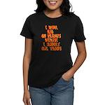 I wear Red Women's Dark T-Shirt