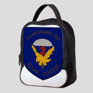 2. FschPzAbwBtl 262 Neoprene Lunch Bag