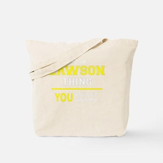 Cute Lawson Tote Bag