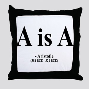 Aristotle 6 Throw Pillow