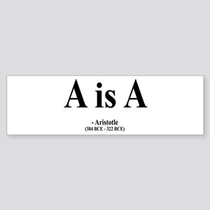Aristotle 6 Bumper Sticker