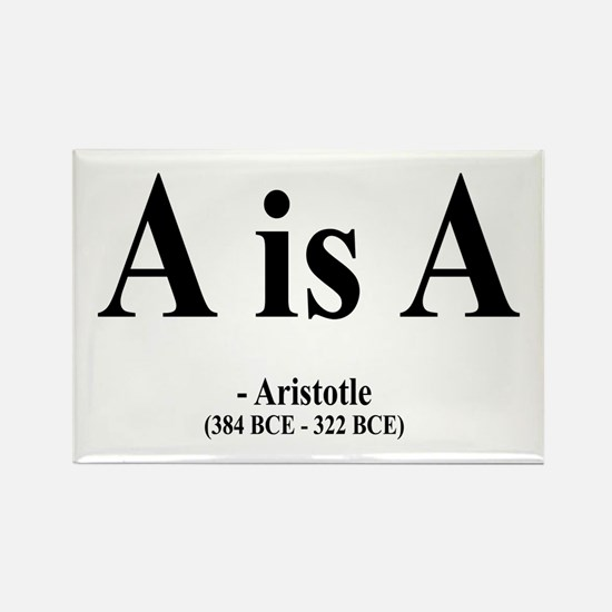 Aristotle 6 Rectangle Magnet