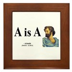 Aristotle 6 Framed Tile