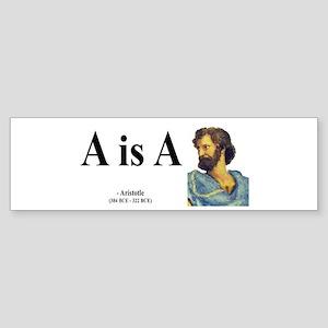 Aristotle 6 Bumper Sticker