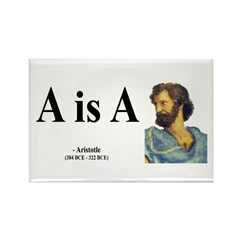 Aristotle 6 Rectangle Magnet (100 pack)