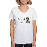 Aristotle 6 Women's V-Neck T-Shirt