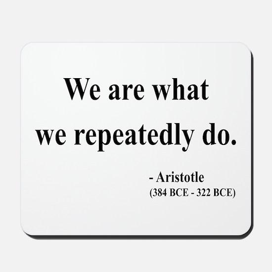 Aristotle 4 Mousepad