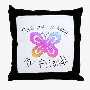 My Friend Throw Pillow