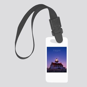 East Point Lighthouse Small Luggage Tag