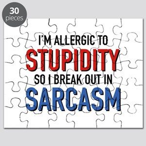 I'm Allergic To Stupidity Puzzle