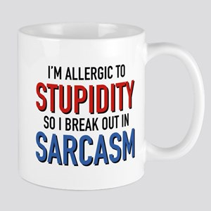 I'm Allergic To Stupidity Mug