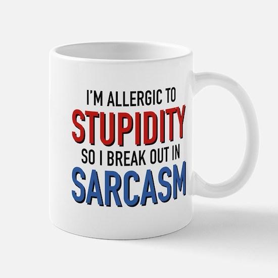 I'm Allergic To Stupidity Mug