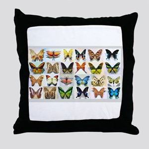 Bitterflies no text Throw Pillow