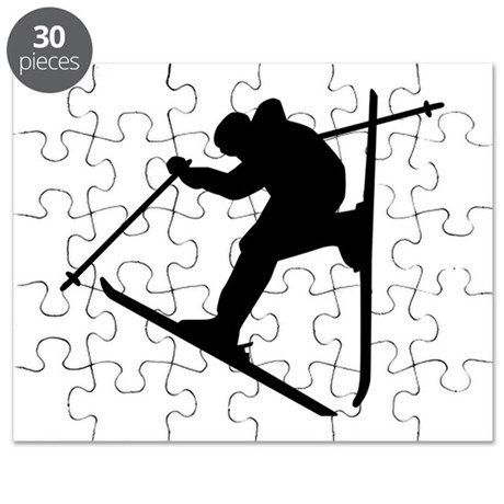 ski jumping puzzles cafepress Snowmobile Fail