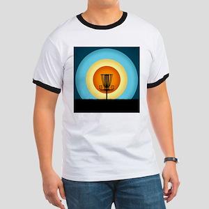 Colorful Disc Golf Basket T-Shirt