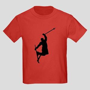 Freestyle ski jump Kids Dark T-Shirt